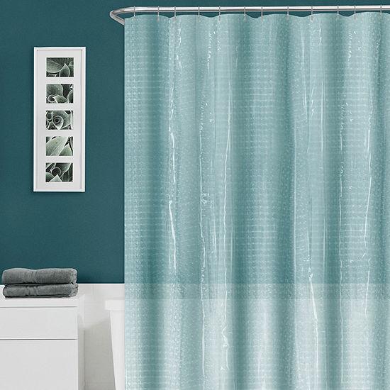Zenna Home Cava Lenticular Shower Curtain