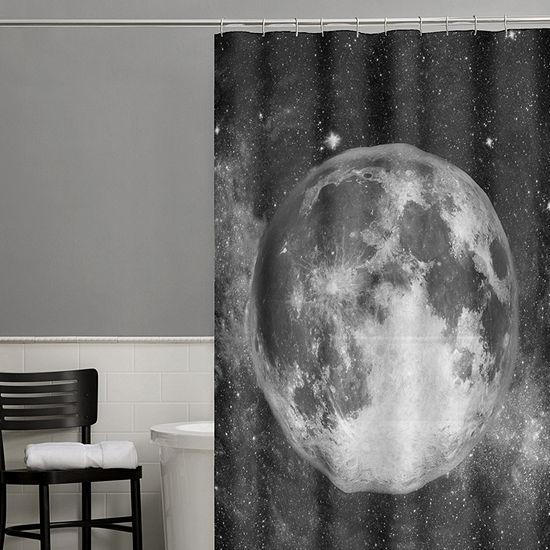 Zenna Home Full Moon Shower Curtain