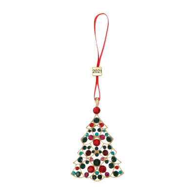 Monet Jewelry Tree Christmas Ornament