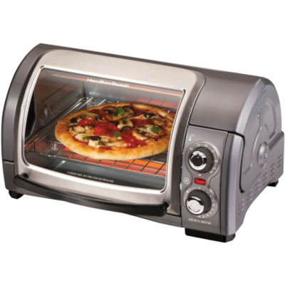 Hamilton Beach® Easy-Reach 4- Slice Toaster Oven