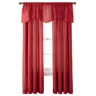 jcpenney.com | Royal Velvet® Encore Rod-Pocket Window Treatments