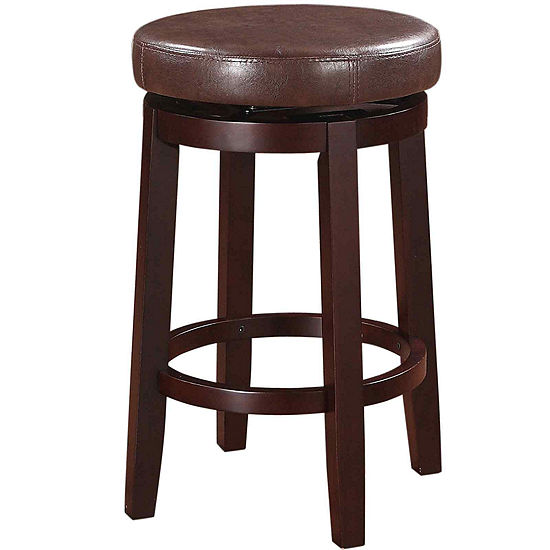 Mason Backless Swivel Barstool