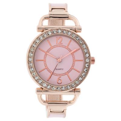 Mixit Womens Gold Tone Bracelet Watch-Jcp3008pr