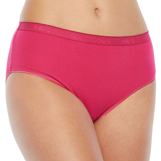 "Underscore ""Red Ribbon Value"" Cotton Knit Hipster Panty"