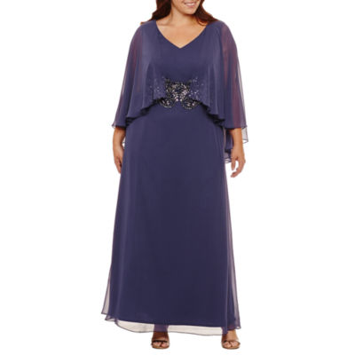 Alex Evenings Sleeveless Evening Gown-Plus