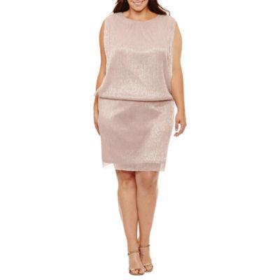 Scarlett Sleeveless Blouson Dress-Plus