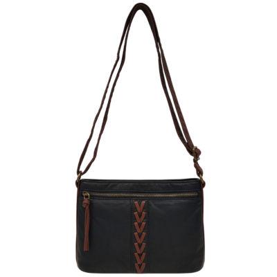 St. John's Bay Mini Front Braid Crossbody Bag