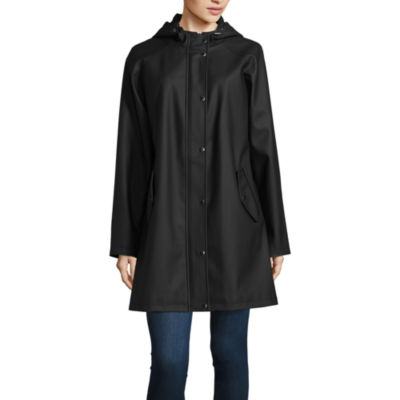 Seb Hooded Water Resistant Raincoat