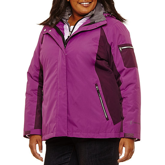 Free Country Microfiber Water Resistant Heavyweight 3 In 1 System Jacket Plus