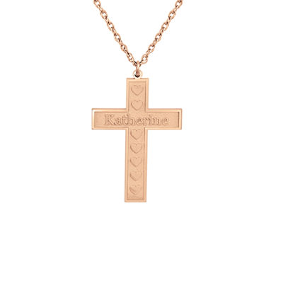 Womens 14K Gold Pendant Necklace