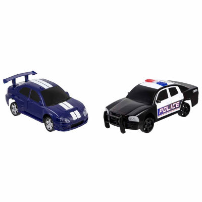 The Black Series Remote Control Drifter and Police Car - 2 Pack