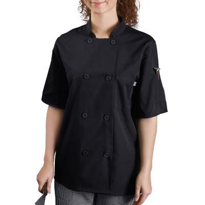 White Swan Unisex Long Sleeve Chef Coat