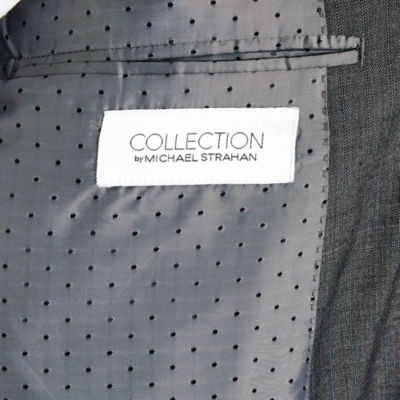 Collection by Michael Strahan  Stripe Classic Fit Suit Jacket