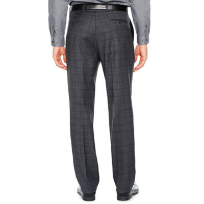 Stafford Plaid Classic Fit Suit Pants