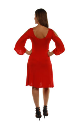 24/7 Comfort Apparel Sheath Dress-Plus Maternity