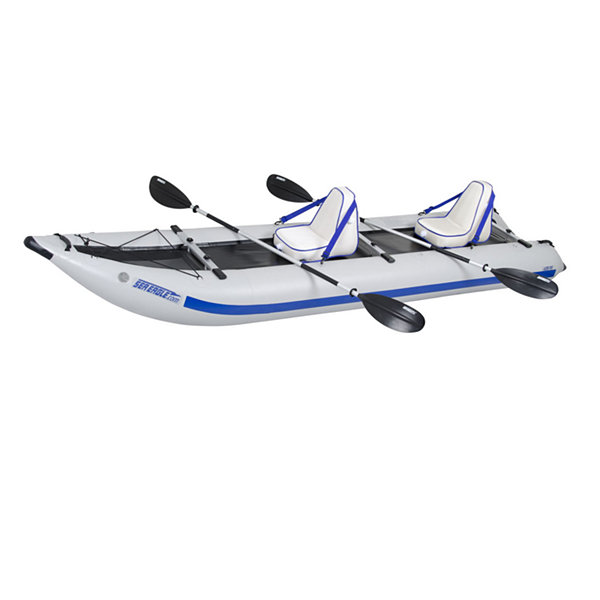 Sea Eagle PaddleSki Catamaran Inflatable Kayak 435PSK Deluxe