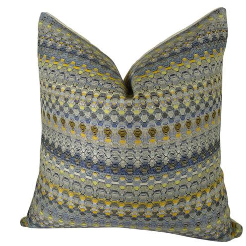 Plutus Merlot Way Handmade Throw Pillow