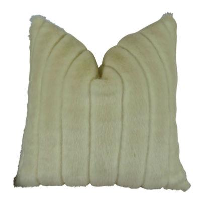 Plutus Fancy Mink Handmade Throw Pillow