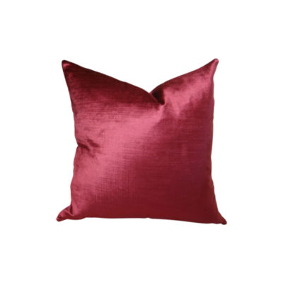 Plutus Cesire Velvet Maze Handmade Throw Pillow