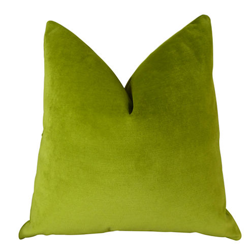 Plutus Contentment Grass Throw Pillow