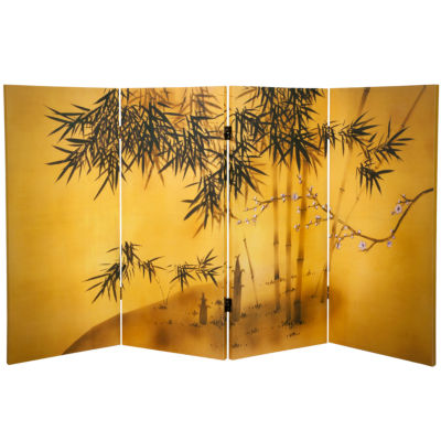 Oriental Furniture 3' Bambo Tree Room Divider