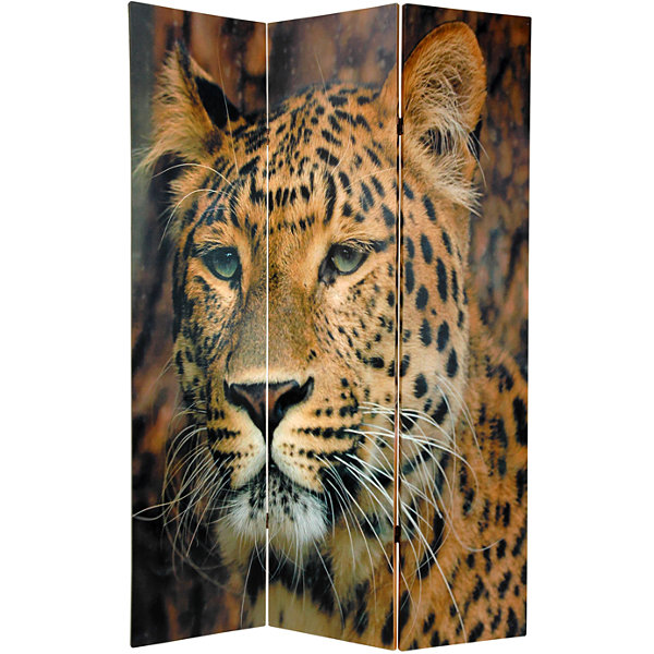 Oriental Furniture 6' Leopard Room Divider
