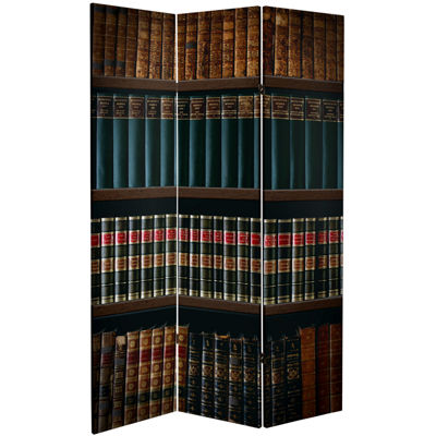 Oriental Furniture 6' Library Room Divider