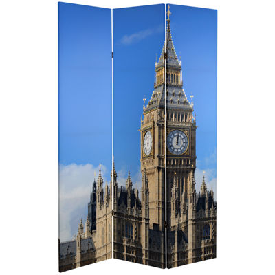 Oriental Furniture 6' London Room Divider