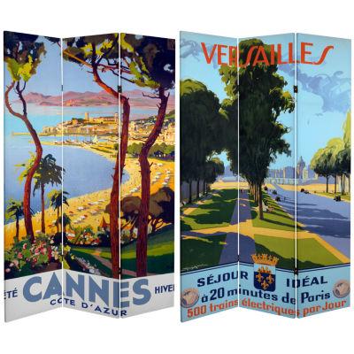 Oriental Furniture 6' Cannes Versailles Room Divider