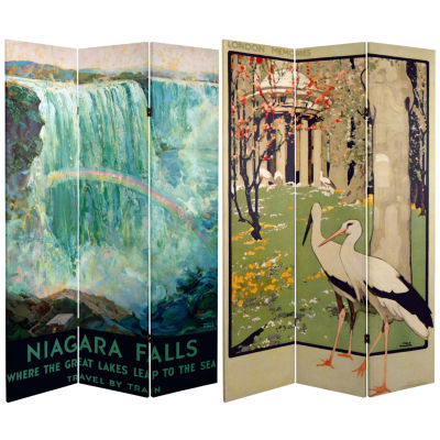 Oriental Furniture 6' Niagara Room Divider
