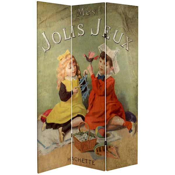 Oriental Furniture 6' Children'S Stories Room Divider