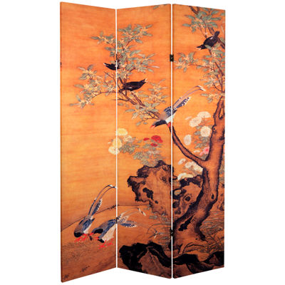 Oriental Furniture 6' Chinese Landscapes Room Divider