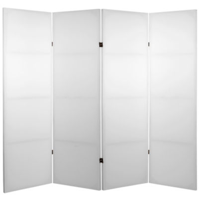 Oriental Furniture 4' Do It Yourself 4 Panel RoomDivider