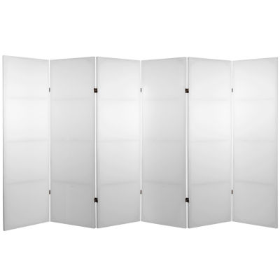 Oriental Furniture 4' Do It Yourself 6 Panel RoomDivider