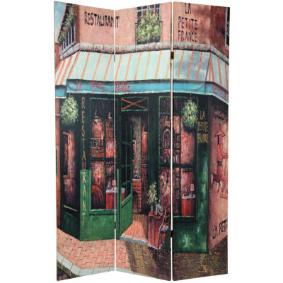 Oriental Furniture 6' Parisian Street Room Divider