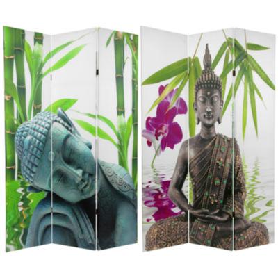 Oriental Furniture 6' Serenity Buddha Room Divider