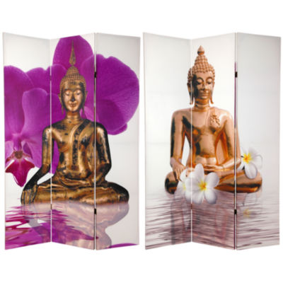 Oriental Furniture 6' Thai Buddha Room Divider