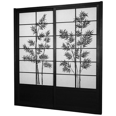 Oriental Furniture 7' Bamboo Tree Room Divider