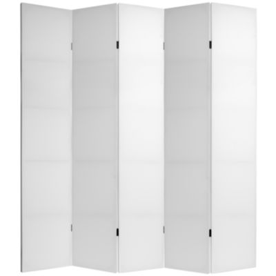 Oriental Furniture 7' Do It Yourself 5 Panel RoomDivider