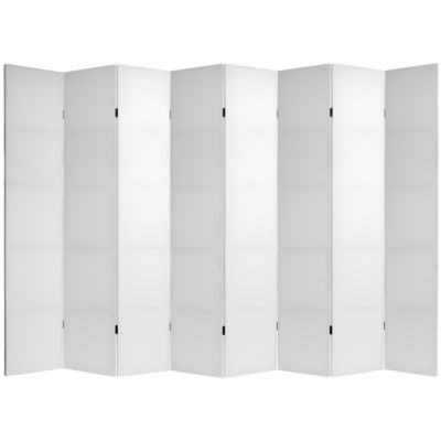 Oriental Furniture 7' Do It Yourself 8 Panel RoomDivider