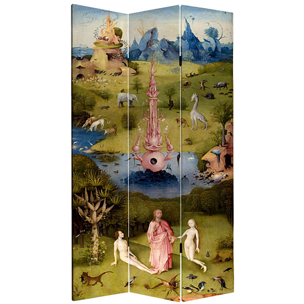 Oriental Furniture 7' Garden Of Delights Room Divider