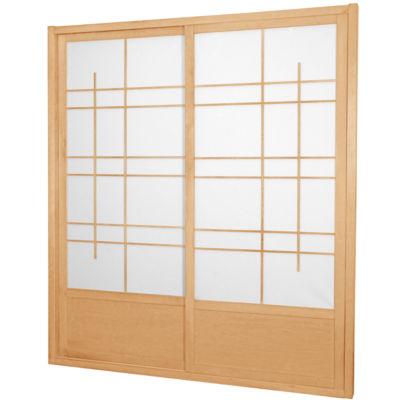 7' Eudes Shoji Room Divider