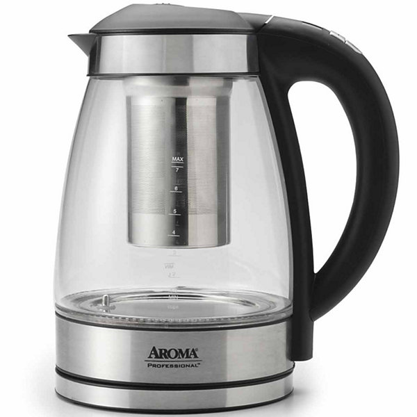 Aroma Awk-165di Cordless Stainless Steel Electric Kettle