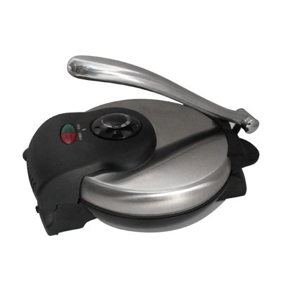 Brentwood Tortilla Maker Non Stick Stainless Steel Finish