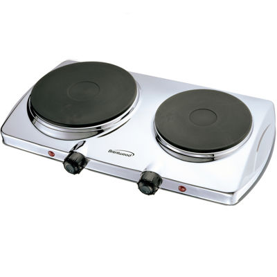 Brentwood Electric 1440W Double Hotplate