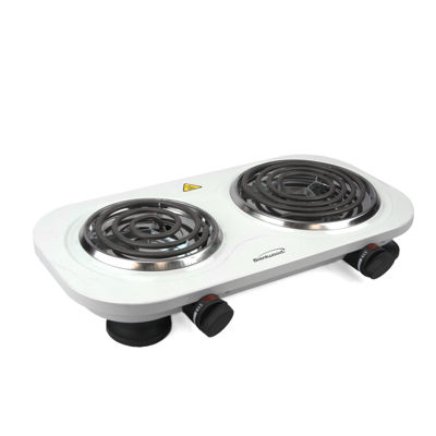 Brentwood Electric 1500W Double Burner