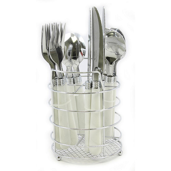 Gibson Sensations II 16-pc. Plastic Handle Flatware