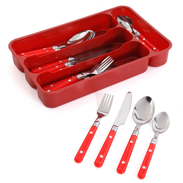 Gibson Casual Living 24-pc. Flatware Set