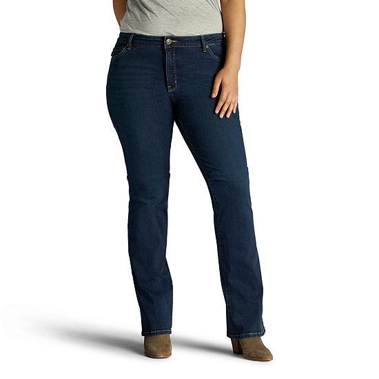 d57e199f Lee Slim Fit Bootcut Jeans Plus JCPenney