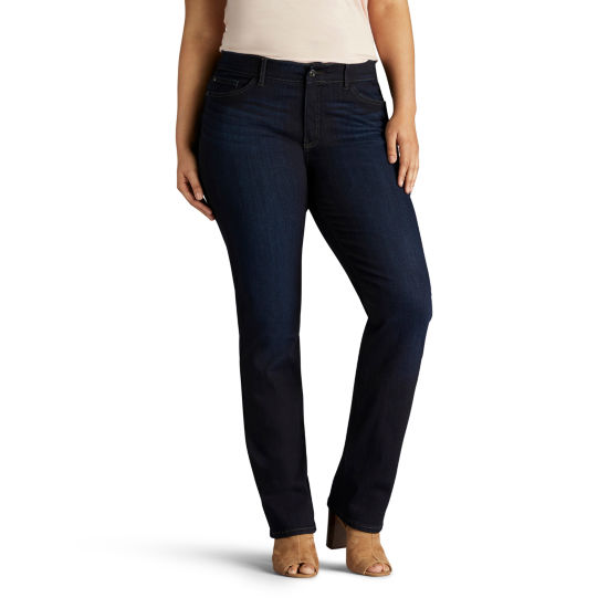 Lee® Flex Motion Straight Leg Jean- Plus